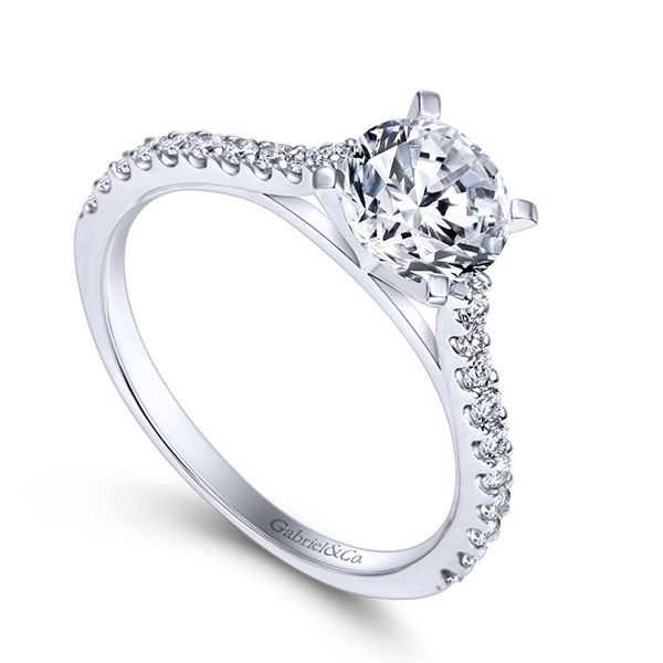 Gabriel Shanna Diamond Engagement Ring Image 2 Goldstein's Jewelers Mobile, AL