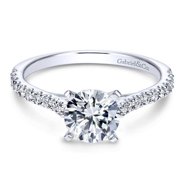 Gabriel Shanna Diamond Engagement Ring Goldstein's Jewelers Mobile, AL