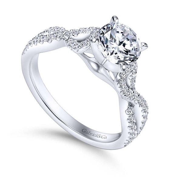 Engagement Ring Setting - Excludes Center Image 2 Goldstein's Jewelers Mobile, AL