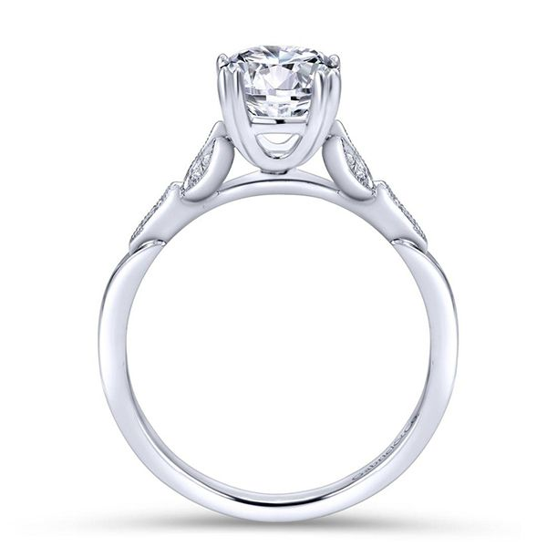 Gabriel Celia Diamond Engagement Ring Image 3 Goldstein's Jewelers Mobile, AL