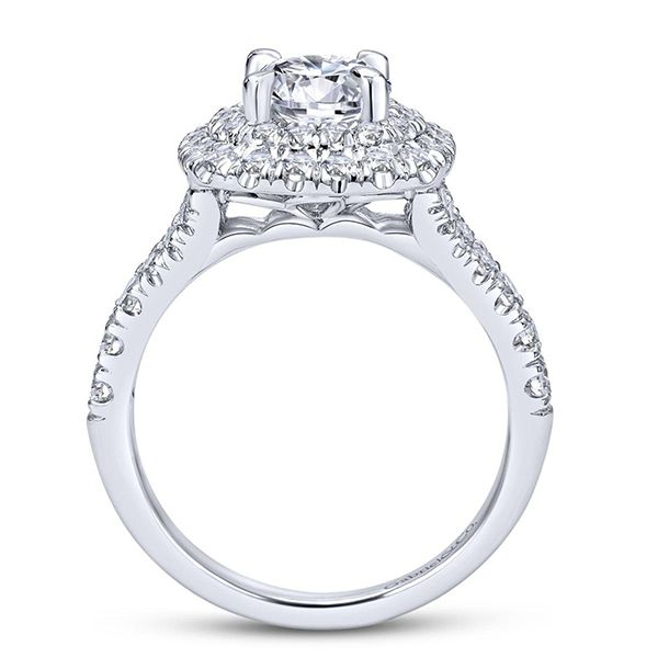 Gabriel Lexie Diamond Engagement Ring Image 3 Goldstein's Jewelers Mobile, AL