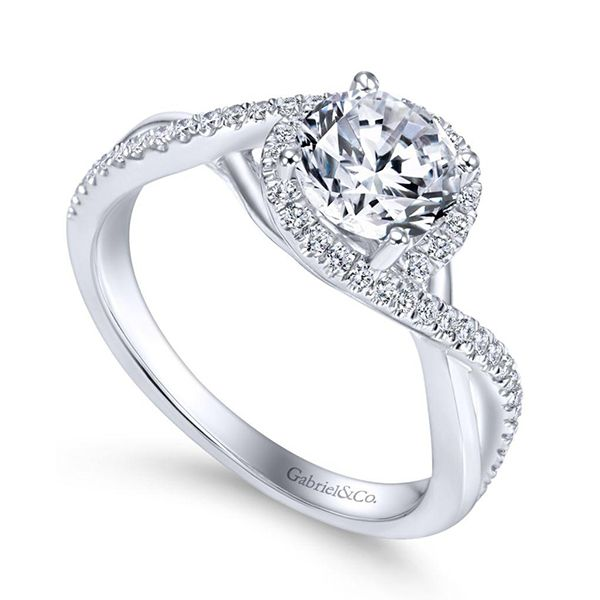 Gabriel Courtney Diamond Engagement Ring Image 2 Goldstein's Jewelers Mobile, AL