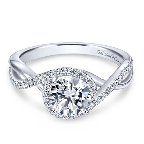 Gabriel Courtney Diamond Engagement Ring Goldstein's Jewelers Mobile, AL