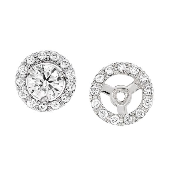 Diamond Earrings Image 2 Goldstein's Jewelers Mobile, AL