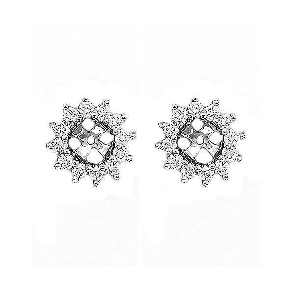 Diamond Earring Jackets Goldstein's Jewelers Mobile, AL