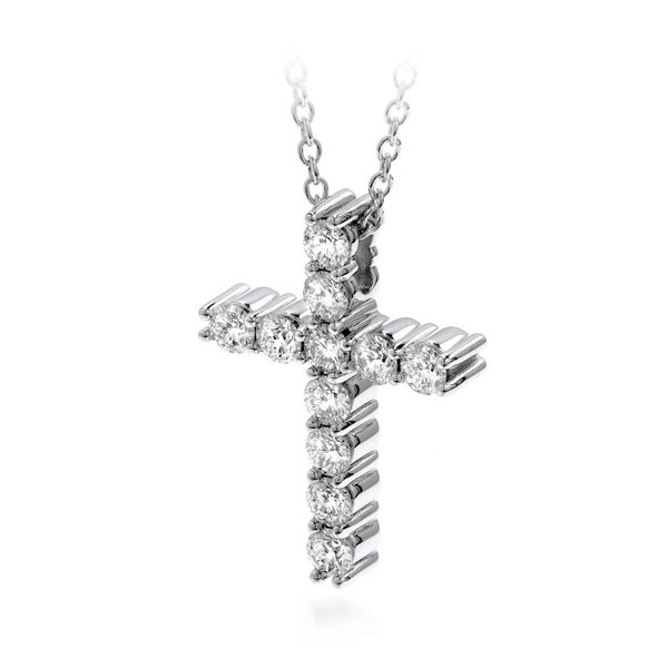 Diamond Necklace Image 2 Goldstein's Jewelers Mobile, AL