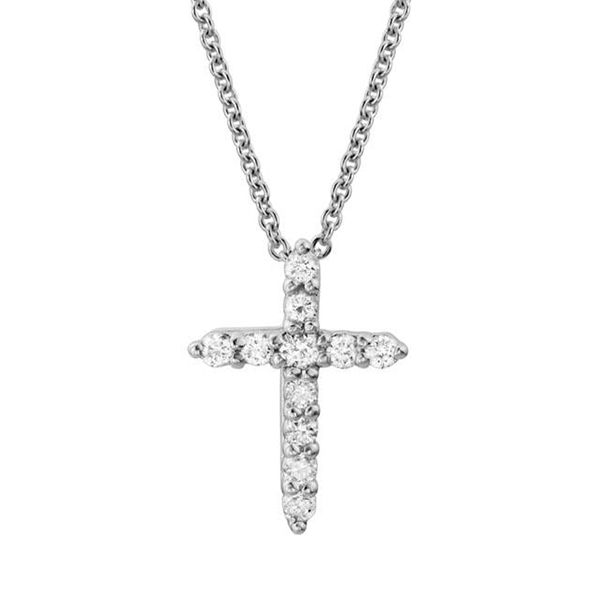 Diamond Cross Necklace Goldstein's Jewelers Mobile, AL