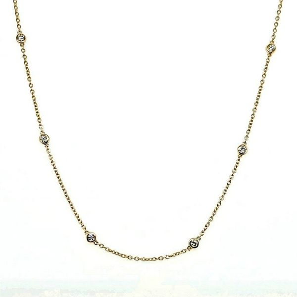 Diamonds By The Yard Necklace Goldstein's Jewelers Mobile, AL