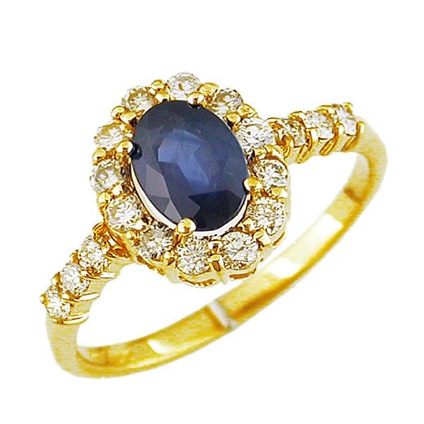 Color and  Diamond Ring Goldstein's Jewelers Mobile, AL