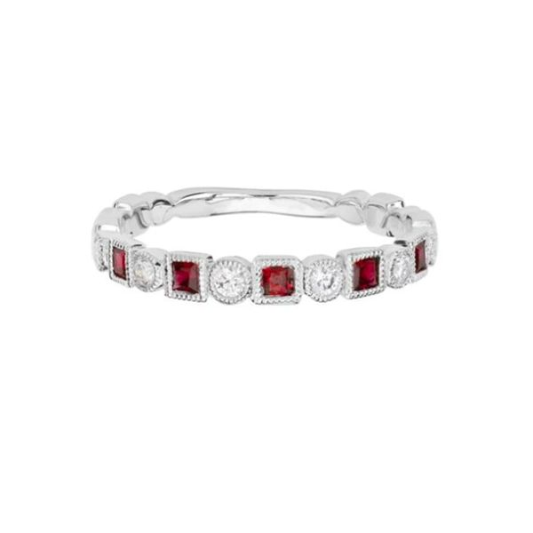 Ruby and Diamond Band Goldstein's Jewelers Mobile, AL