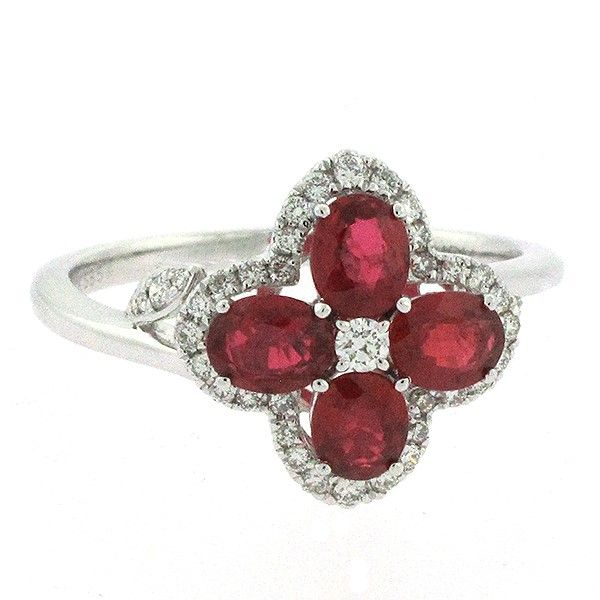 Ruby & Diamond Ring Goldstein's Jewelers Mobile, AL
