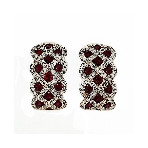 Colored Stone Earrings Goldstein's Jewelers Mobile, AL