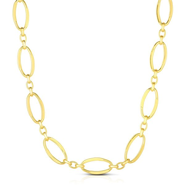 Oval Link Necklace Goldstein's Jewelers Mobile, AL
