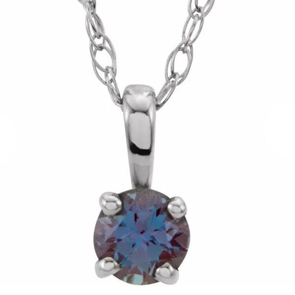 Imitation Alexandrite Necklace Goldstein's Jewelers Mobile, AL