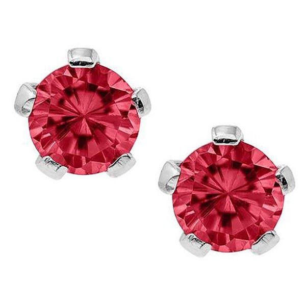 July Birthstone Earrings Goldstein's Jewelers Mobile, AL