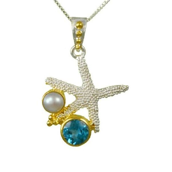 Michou Poseidon's Treasures Starfish Necklace Goldstein's Jewelers Mobile, AL