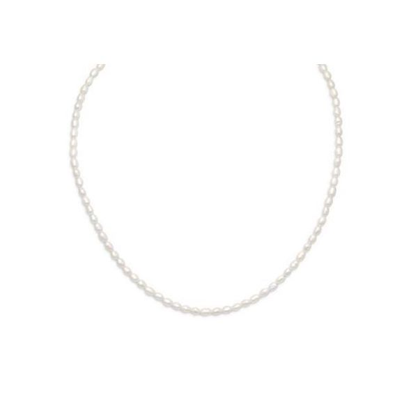 Rice Pearl Necklace Goldstein's Jewelers Mobile, AL