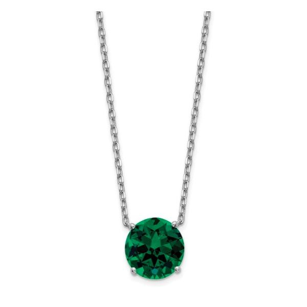May Birthstone Necklace Goldstein's Jewelers Mobile, AL