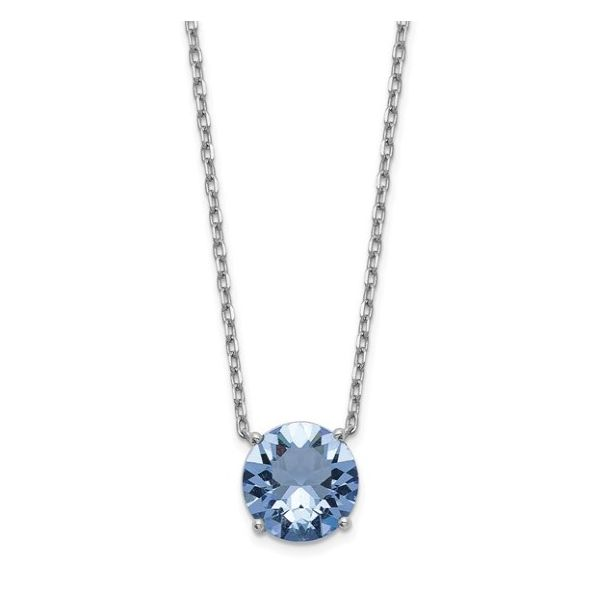 December Birthstone Necklace Goldstein's Jewelers Mobile, AL