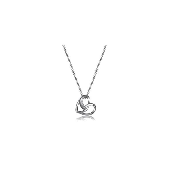 Elle Amour Heart Necklace Goldstein's Jewelers Mobile, AL