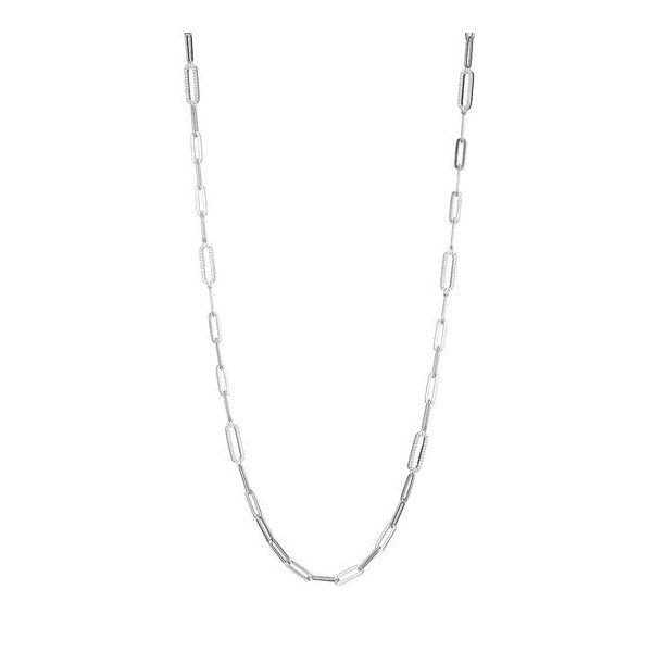 Charles Garnier Paperclip Necklace Goldstein's Jewelers Mobile, AL