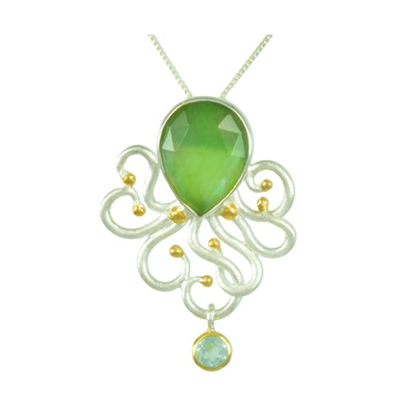 Michou Poseidon's Treasures Octopus Necklace Goldstein's Jewelers Mobile, AL