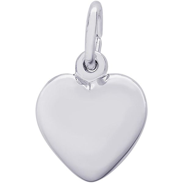 Puffy Heart Charm Goldstein's Jewelers Mobile, AL