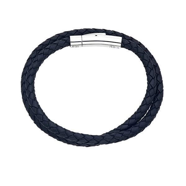 Esquire Leather Wrap Bracelet Goldstein's Jewelers Mobile, AL