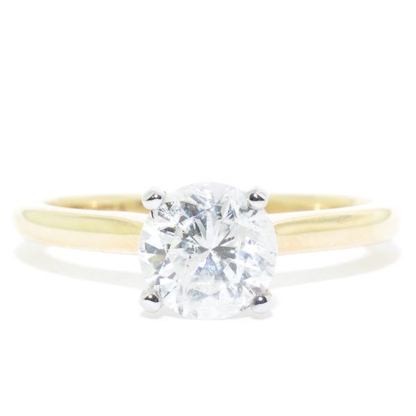 14KT Yellow Gold 1.19CT I-2 Diamond Engagement Ring. Graziella Fine Jewellery Oshawa, ON
