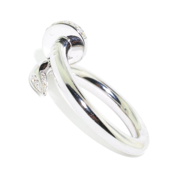 14KT White Gold 0.13CTW Diamond Fashion Ring. Image 2 Graziella Fine Jewellery Oshawa, ON