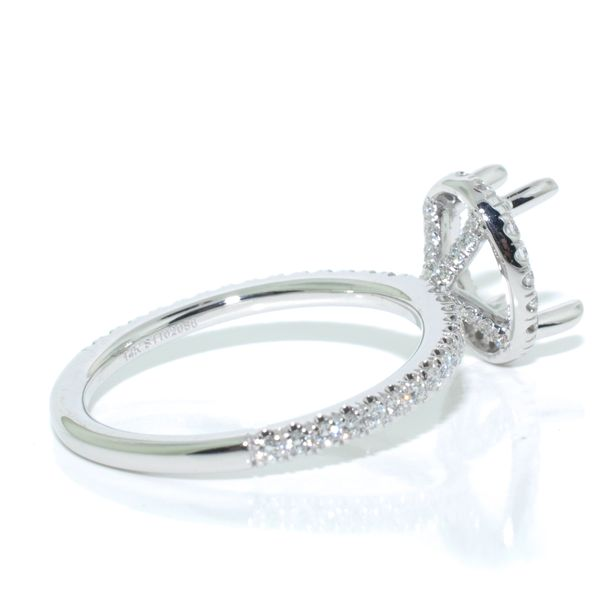 Gabriel & Co Diamond Ring. Image 2 Graziella Fine Jewellery Oshawa, ON