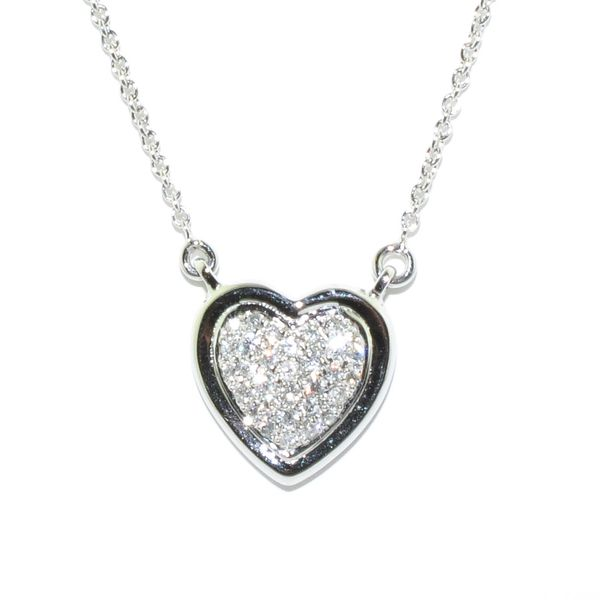 Diamond Heart Necklace Graziella Fine Jewellery Oshawa, ON