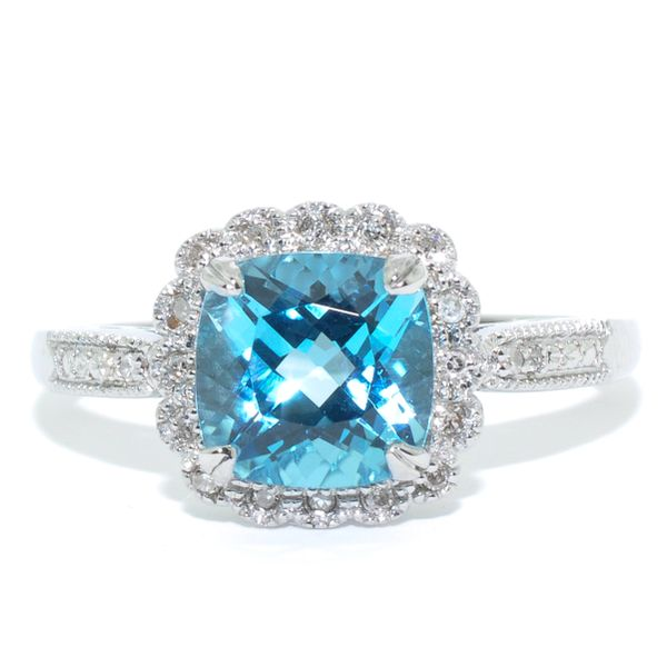 Blue Topaz Ring Graziella Fine Jewellery Oshawa, ON