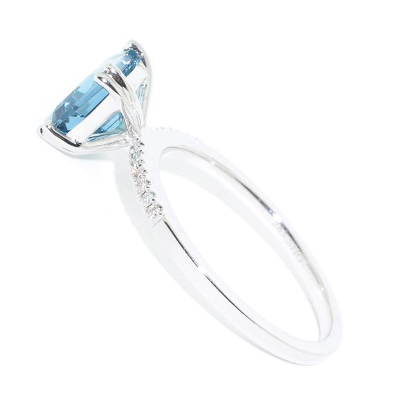 Blue Topaz Ring Image 2 Graziella Fine Jewellery Oshawa, ON