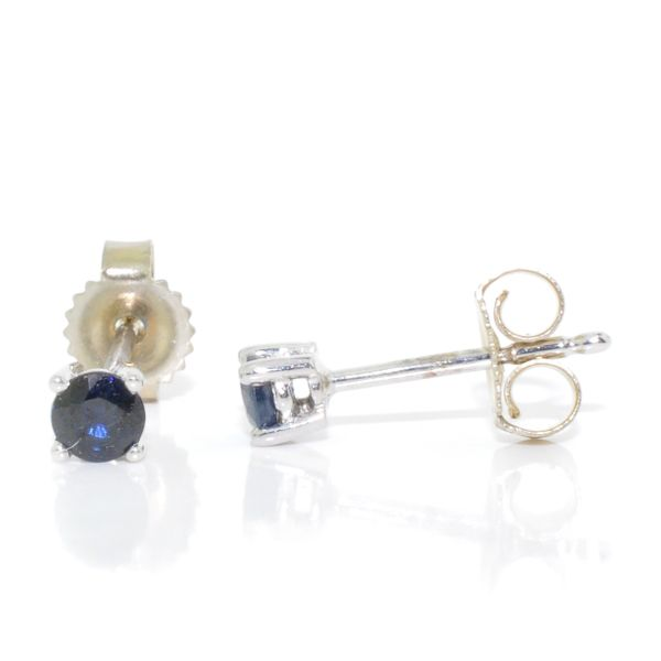Blue Sapphire Earrings Graziella Fine Jewellery Oshawa, ON