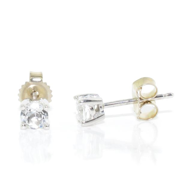 White Topaz Earrings Graziella Fine Jewellery Oshawa, ON