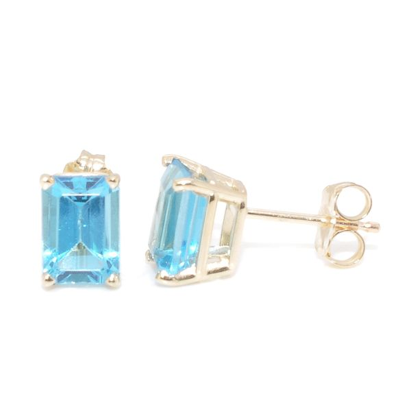 Blue Topaz Earrings Graziella Fine Jewellery Oshawa, ON