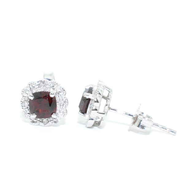 Garnet Earrings Graziella Fine Jewellery Oshawa, ON