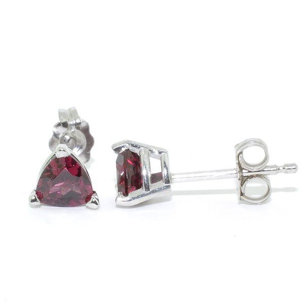Rhodalite Garnet Earrings Graziella Fine Jewellery Oshawa, ON