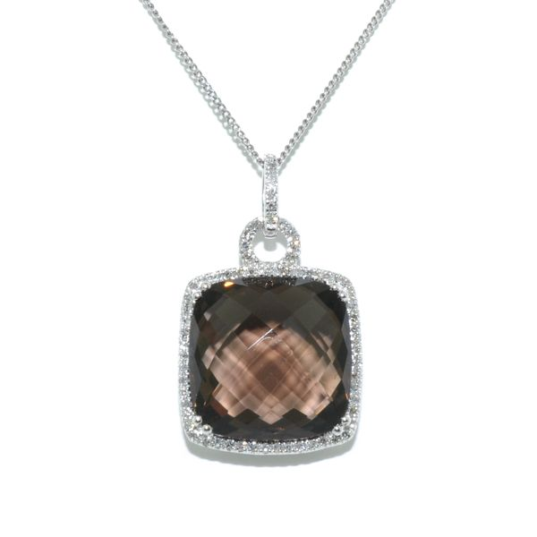 Smokey Quartz Necklace Graziella Fine Jewellery Oshawa, ON