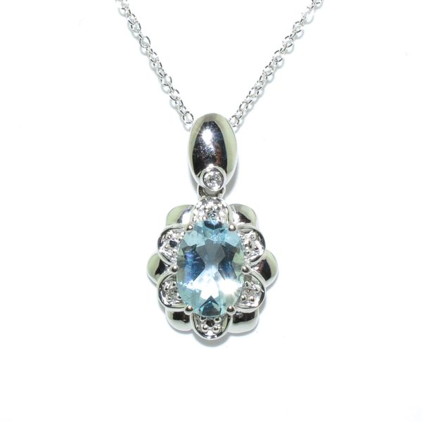 Aquamarine Necklace Graziella Fine Jewellery Oshawa, ON