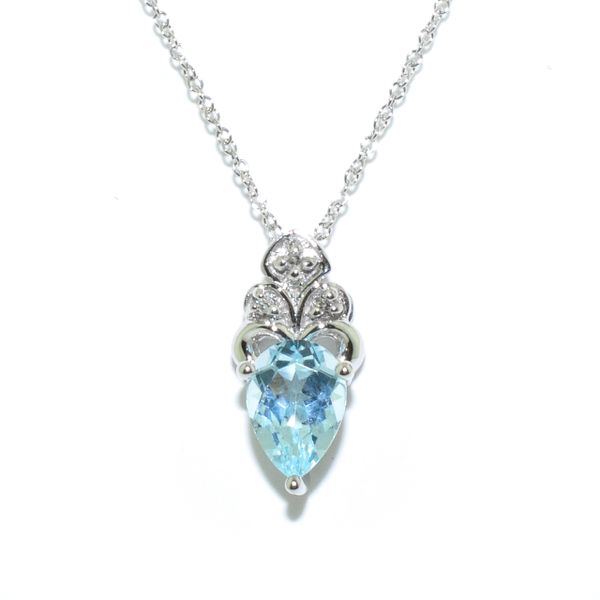 Blue Topaz Necklace Graziella Fine Jewellery Oshawa, ON