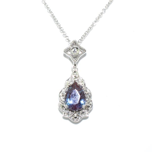 Created Alexandrite Necklace Graziella Fine Jewellery Oshawa, ON