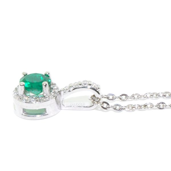 Emerald Necklace Image 2 Graziella Fine Jewellery Oshawa, ON