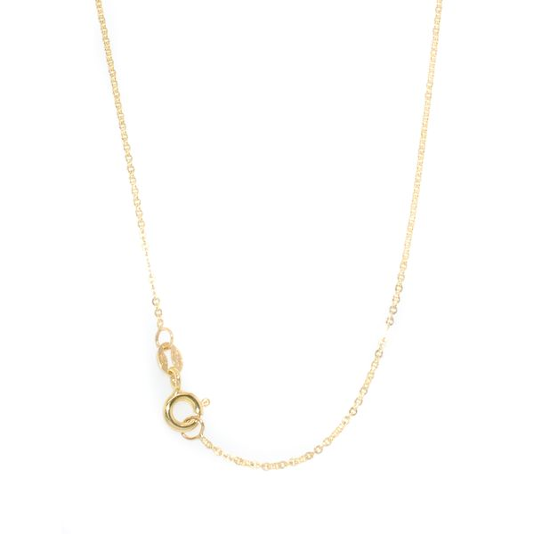 10KT Yellow Gold Rolo Chain 16