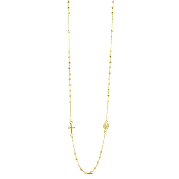 Bella 'Hope' 14KT Yellow Gold Rosary Necklace. Graziella Fine Jewellery Oshawa, ON