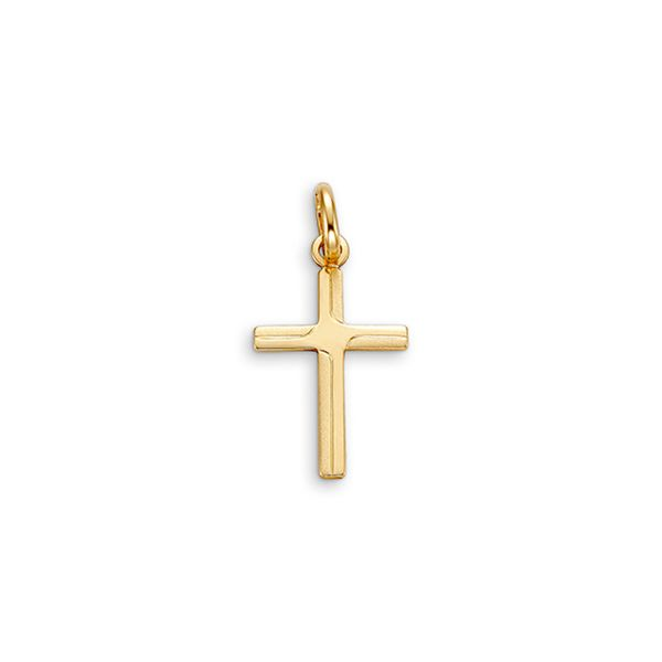 Bella 'Faith' 10KT Yellow Gold Cross Pendant. Graziella Fine Jewellery Oshawa, ON