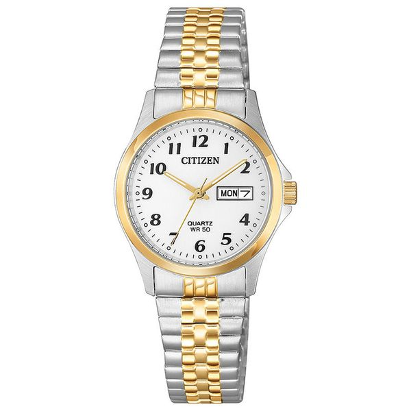 Citizen Quartz 26MM with Expansion Bracelet Watch. EQ2004-95A Graziella Fine Jewellery Oshawa, ON