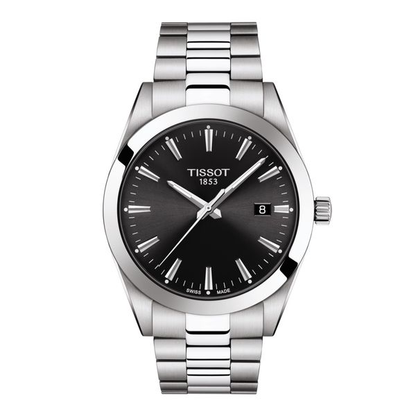 Tissot Gentleman Watch. T1274101105100. Graziella Fine Jewellery Oshawa, ON