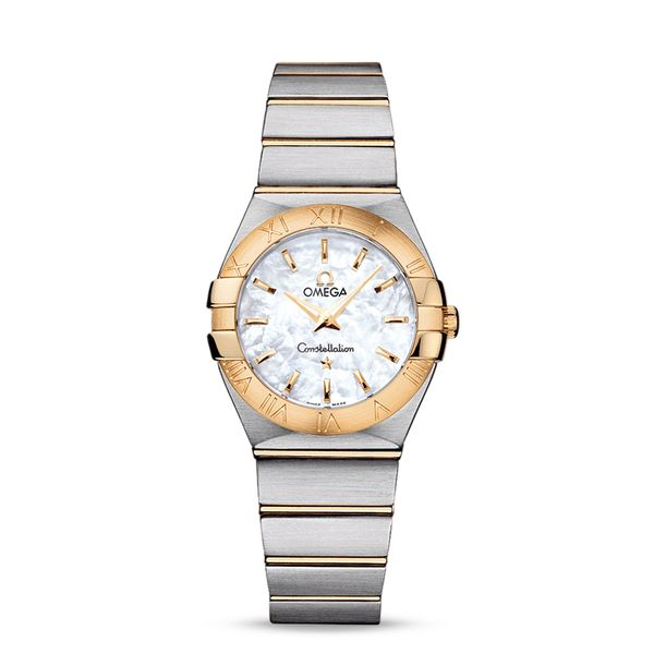 Omega Constellation 27MM Quartz Watch. Steel - yellow gold on Steel - yellow gold. 12320276005002. Graziella Fine Jewellery Oshawa, ON